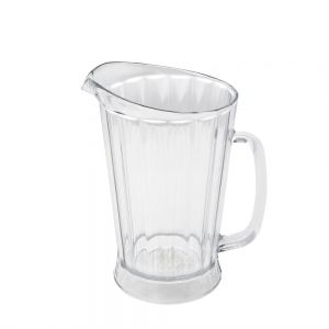 Pitcher, 60 oz. Plastic Pitcher, Bouncer II, Clear