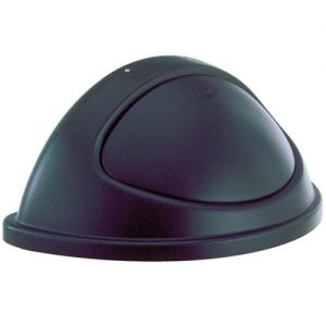 Dome Cover Half Round for 3520 Container, Black