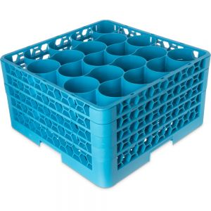 OptiClean NeWave Dishwasher Glass Rack, 20 Rounded Compartments