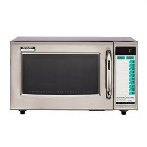 Medium Duty Microwave Oven - 1000 Watts (20 Memory Touchpad)