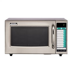 Medium Duty Microwave Oven - 1000 Watts (10 Memory Touchpad)