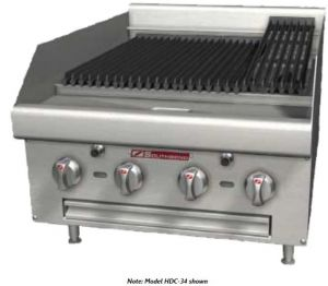 """24"""" Countertop Gas Radiant Charbroiler"""