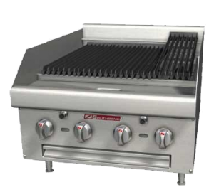 """48"""" Countertop Gas Radiant Charbroiler"""