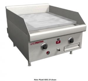 """18"""" Thermostatic Control Gas Griddle"""