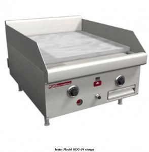 """24"""" Manual Control Gas Griddle"""