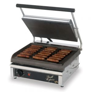 Grill Express™ Two-Sided Electric Grill with Smooth Grill Plates