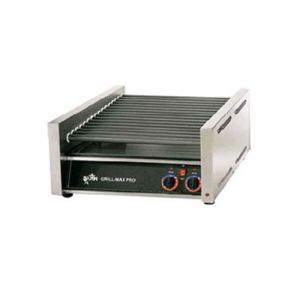 Star Grill-Max 20 Hot Dog Roller Grill Chrome 120v