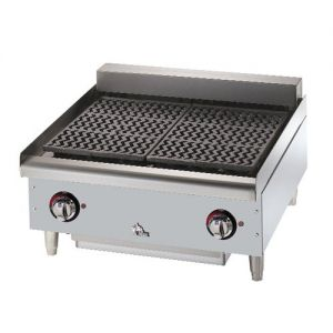 Star-Max Charbroiler, 24 Inch Electric Charbroiler, 208v