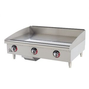Electric Griddle 24 Inch 208 or 240 Volt