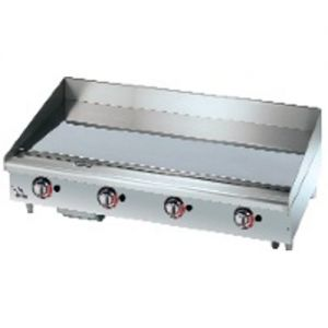 Star-Max Chrome Plated Griddle 36 Inch Gas