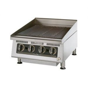 Ultra-Max Radiant Charbroiler 24 Inch Gas