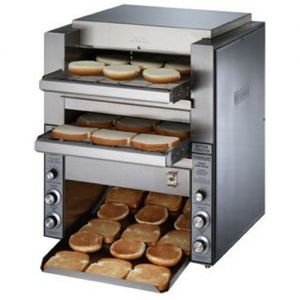 Toaster, Double Conveyor, 1000 Slices per Hour 208v