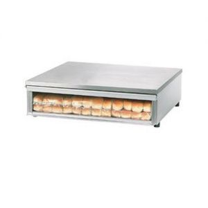Bun Box S/S with Clear Door for Star 30 and 45 Series Roller Grills