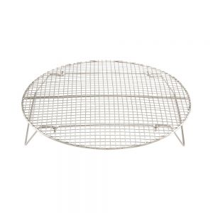"Winco STR-15 Steamer Rack - 14-3/4"" Diameter"
