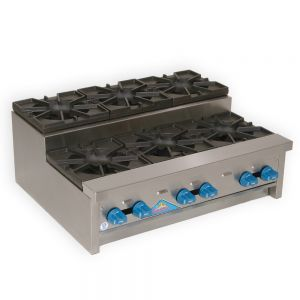 Hotplate, Step-Up Saute, Counter Model, Gas, 36 Inches