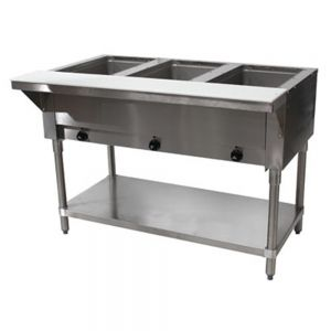 Electric Hot Food Table - 3 Wells, 240V