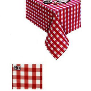 Kare-eze Polycheck Laminate Tablecloth 90 Inch Round