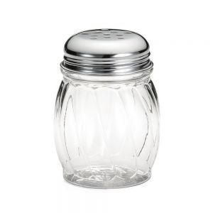 Cheese Shaker Perforated 6 Oz. Lexan