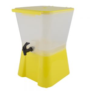 3 Gallon Yellow Beverage Dispenser