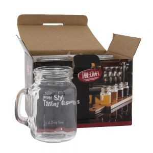 4-1/2 Oz Glass Mason Jar (Pack of 4)