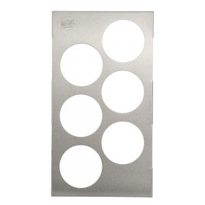 TEMPLATE SQ BTTL 6-HOLE 1/3 SZ