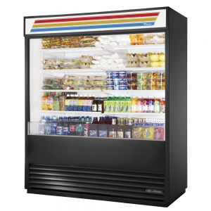 Vertical Air Curtain, Refrigerated Merchandiser, 72 Inch