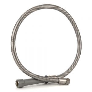 Flexible Stainless Steel Pre Rinse Hose, 44 Inches