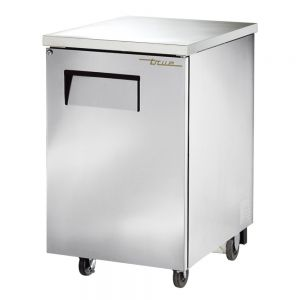 Back Bar Cooler, 1 Door, Holds 1 Each 1/2 Keg, Stainless Steel