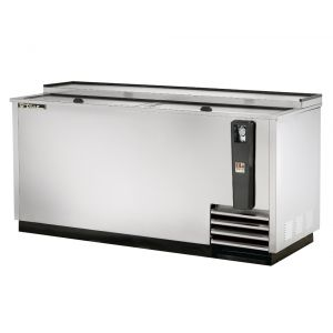 Bottle Cooler, Deep Well, 65 Inch Wide, Stainless