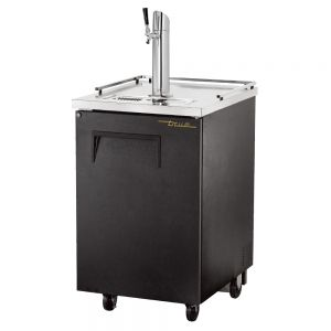 1 Keg Direct Draw Beer Dispenser, Black