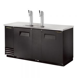 3 Keg Direct Draw Beer Dispenser, Black
