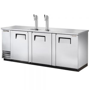 4 Keg Direct Draw Beer Dispenser, Stainless Steel