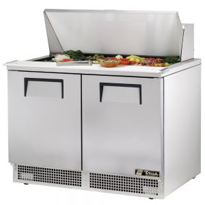 Food Prep Table, Two Door, 48 Inches