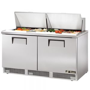 Food Prep Table, Two Door, 64 Inches