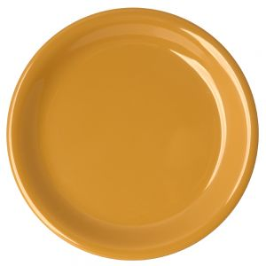 Melamine Narrow Rim Plate - Color Yellow