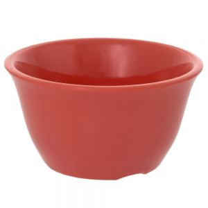 7 Oz Melamine Bouillon Cup - Color Orange