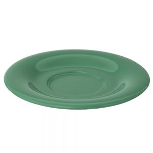 5 1/2 Inch Melamine Saucer for CR313, CR5044, ML901, ML9011 mugs - Color Green