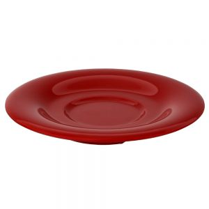 5 1/2 Inch Melamine Saucer for CR313, CR5044, ML901, ML9011 mugs - Color Pure Red