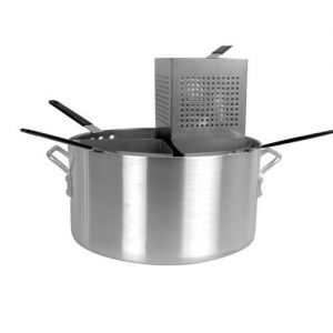 Pasta Cooker, 20 Qt., 5 Piece Set, Aluminum