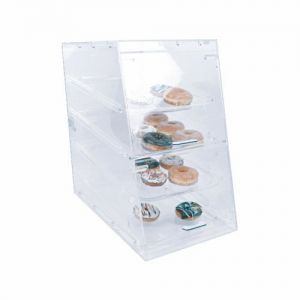 Acrylic Pastry Display, 4 Tray, 14 x 24 x 24 Inch