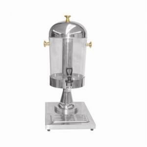 2.2 Gallon Juice Dispenser, Gold Accented