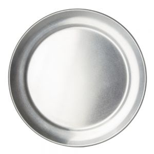 Pizza Pan 8 Inch Wide Rim Aluminum
