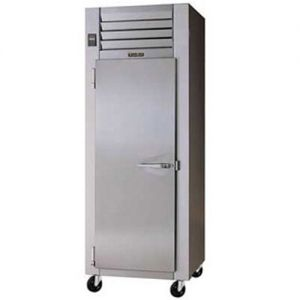 Commercial Refrigerator, 1 Door, 24.2 Cu. Ft. S/S Front