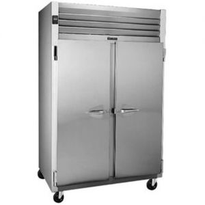 Commercial Freezer, 2 Door, 46 Cu. Ft. S/S Front