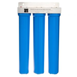 Tri-Plex Water Filter Assembly, 20 Inches