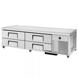 Refrigerated Chef Base 4 Drawers, 79 inch