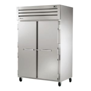 Commercial Freezer, Deep Series, 2 Solid Doors, 56 Cu. ft., All S/S