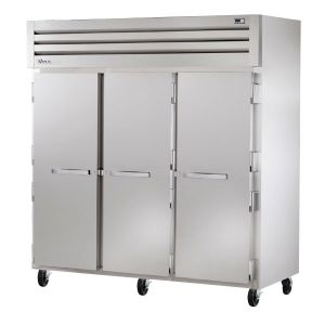 Commercial Refrigerator, Deep Series, Solid 3 Door, 85 Cu. Ft.