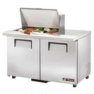 Sandwich/Salad Unit Mega Top, 2 Door, 12 Pan, ADA Compliant, 48-3/8 Inch Wide