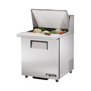 Sandwich/Salad Unit Mega Top, 1 Door, 12 Pan, ADA Compliant, 27-5/8 Inch Wide